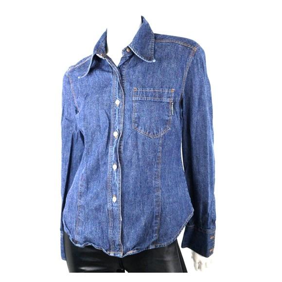 e0a49acc5dc75c Dolce   Gabbana Tops - Dolce   Gabbana Denim Jean Shirt L